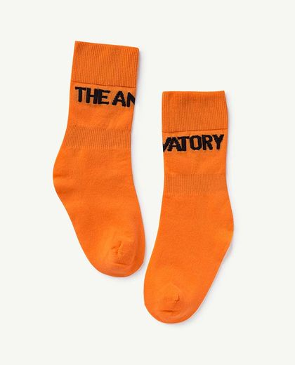 TAO - WORM KIDS SOCKS, ORANGE