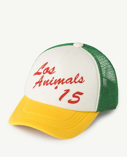 TAO - NYLON HAMSTER KIDS CAP, YELLOW LOS ANIMALS