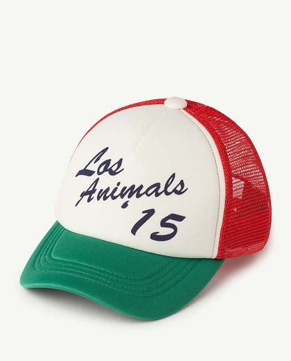 TAO - NYLON HAMSTER KIDS CAP, GREEN LOS ANIMALS