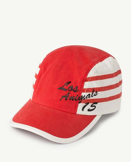 TAO - STRIPES HAMSTER KIDS CAP, RED APPLE LOS