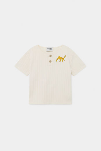 Bobo Choses - Leopard Buttoned T-Shirt 12001023