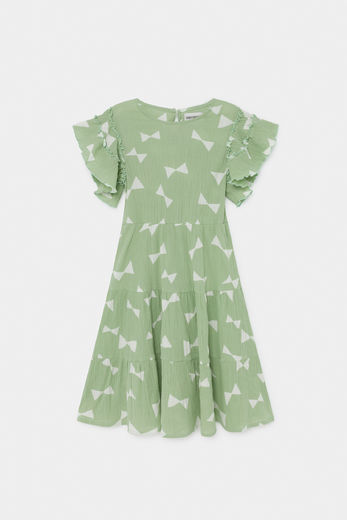 Bobo Choses - All Over Bow Flamenco Dress 12001124