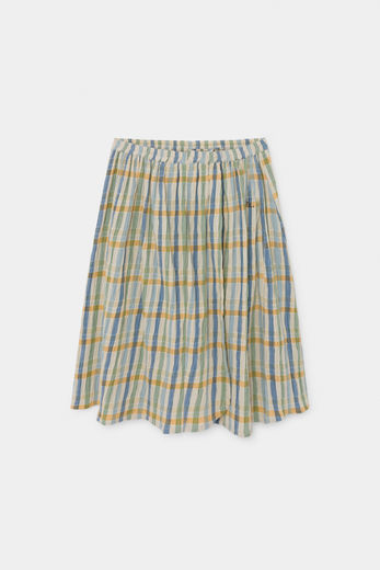 Bobo Choses - Checker Wrap Midi Skirt 12001134