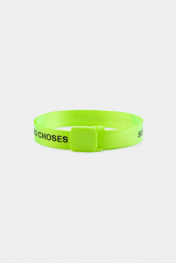 Bobo Choses -  Fluo Lime Bobo Choses Belt 12011048