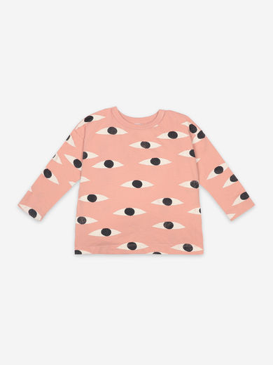 Bobo Choses - Eyes All Over Long Sleeve T-Shirt, 121AC028