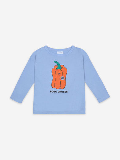 Bobo Choses - Vote for Pepper Long Sleeve T-Shirt, 121AC029
