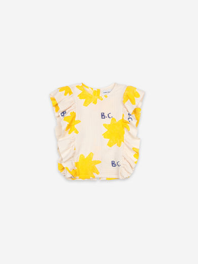Bobo Choses - Sparkle All Over Ruffle Woven Top, 121AC080