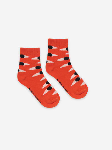 Bobo Choses - Eyes Red Short Socks, 121AI020