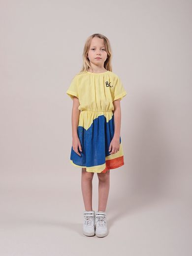 Bobo Choses - Landscape Woven Dress, 121AC107