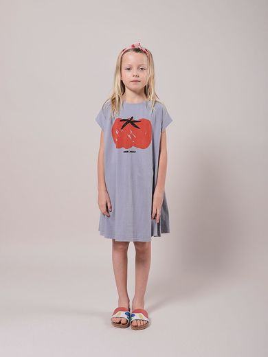 Bobo Choses - Tomato Jersey Dress, 121AC117