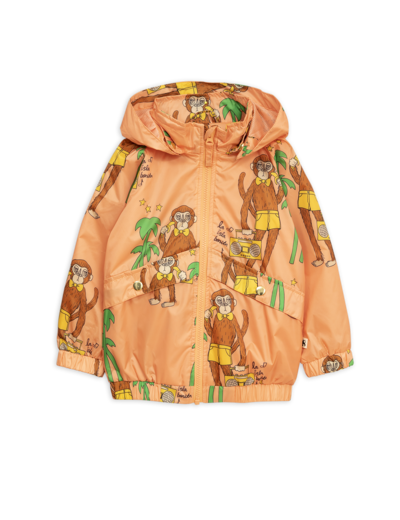 Mini Rodini - Cool monkey sporty jacket, Pink