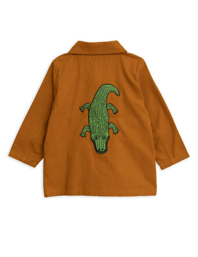 Mini Rodini - Safari crocco jacket, Brown