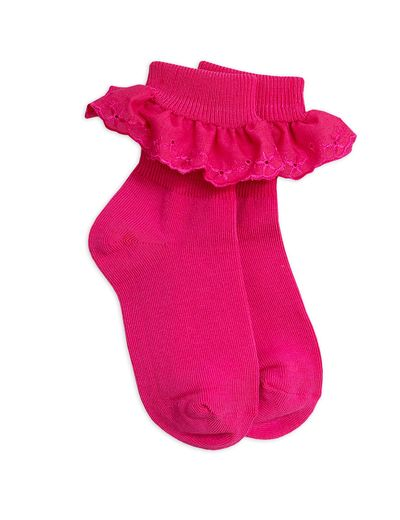 Mini Rodini - Lace Sock, Pink