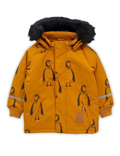 Mini Rodini - K2 penguin parka, Brown