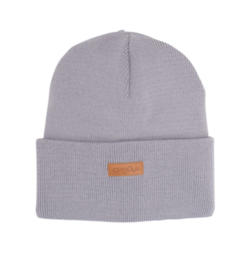 Gugguu - Basic knitted beanie, grey