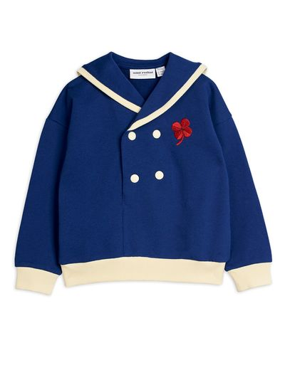 Mini Rodini - Sailor sweatshirt, Navy