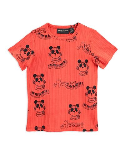 Mini Rodini - Mozart aop ss tee, Red