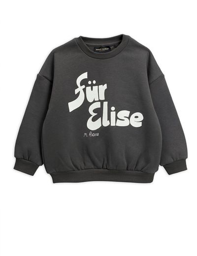 Mini Rodini - Für Elise sp sweatshirt, Grey