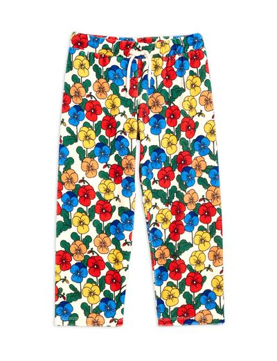 Mini Rodini - Violas velour trousers, Multi