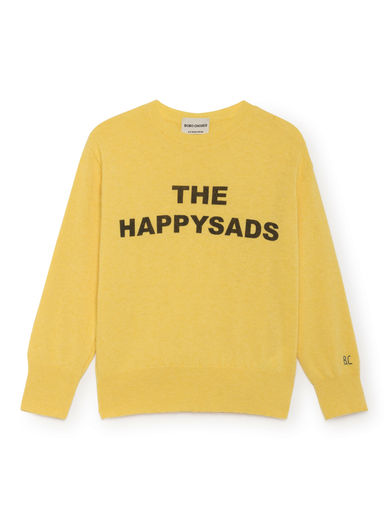 Bobo Choses - The Happy Sads Jumper, Dusky Citron