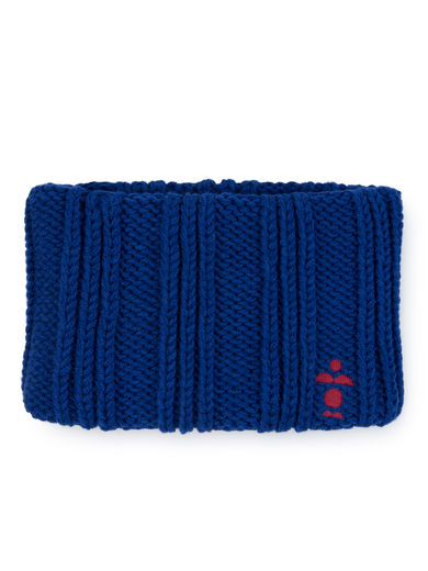 Bobo Choses - Blue Knitted Headband, Mazarine Blue / BABY