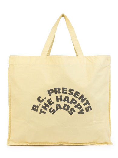 Bobo Choses - The Happy Sads Tote Bag, Dusky Citron