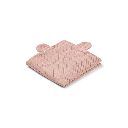 Liewood - Hannah muslin cloth mr.bear / 2 pack, rose