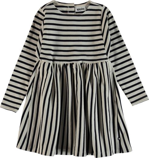 Molo Kids - Carisma dress, Kaptain Pearl Stripe