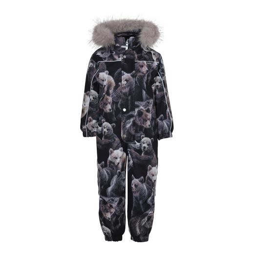 Molo Kids - Polaris Fur overall, Teddy