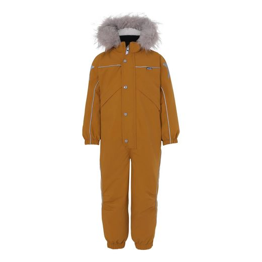 Molo Kids - Polaris Fur Recycle overall, Autumn Leaf