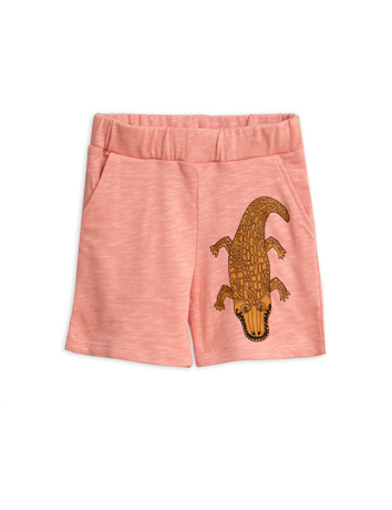 Mini Rodini - Crocco sp sweatshorts, Pink