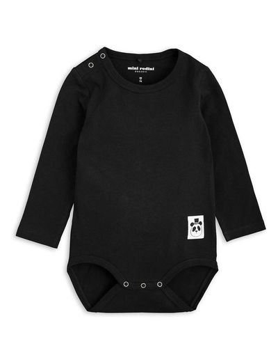 Mini Rodini - Basic ls body, black