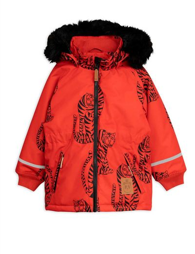 Mini Rodini - K2 Tiger Parka, Red