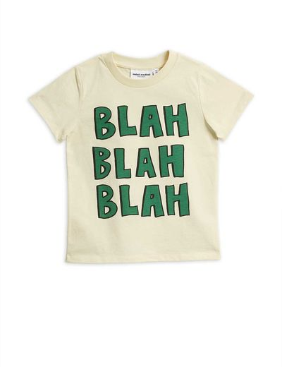 Mini Rodini - Blah sp ss tee, offwhite