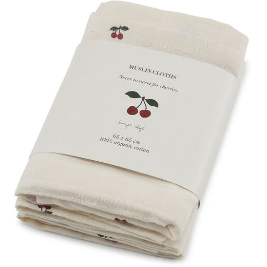 Konges Slojd - Muslin pack, cherry