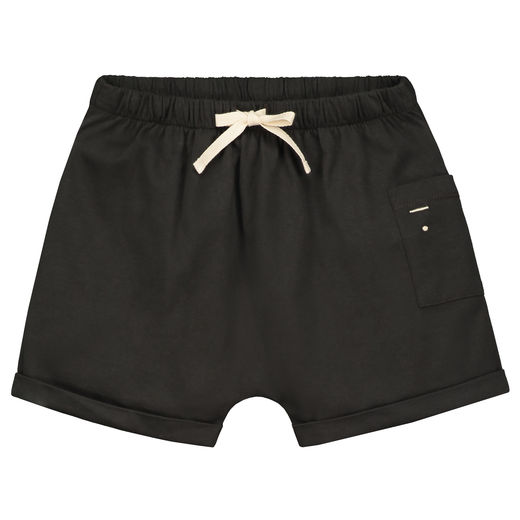 GRAY LABEL - One Pocket Shorts, Nearly Black (GL-BOT020-NBA)