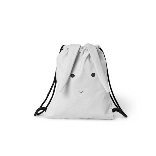 Liewood - Gert gym bag rabbit, dumbo grey
