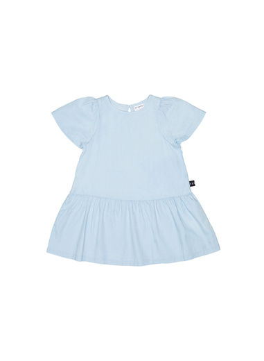 Huxbaby - Chambray Mia Dress, Chambray