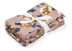 Liewood - Hannah muslin cloth  / 2 pack, flower bomb