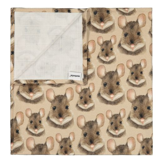 METSOLA - Mouse muslin cloth, smoke grey