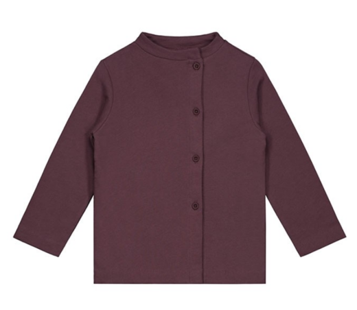 GRAY LABEL - Button Cardigan, Plum