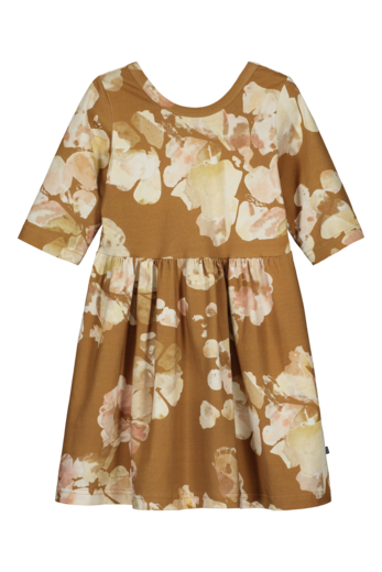 Kaiko - Dress 3/4 sl, Marble Meadow Clay