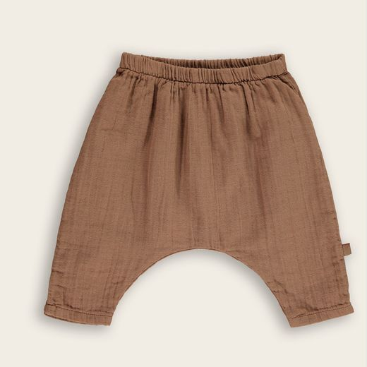Mini Sibling - Pants, Mocha Plain