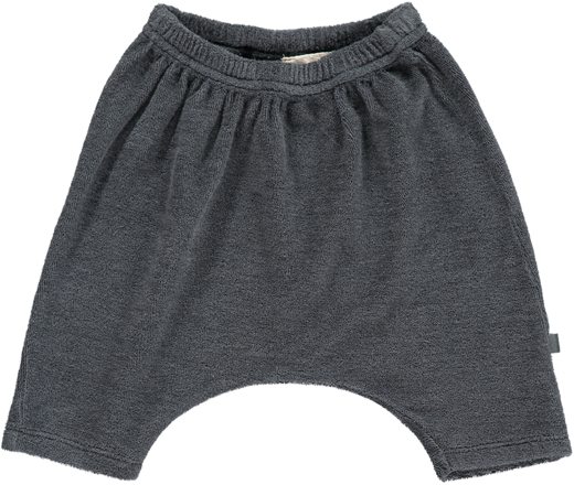 Mini Sibling - Pants, Charcoal Plain
