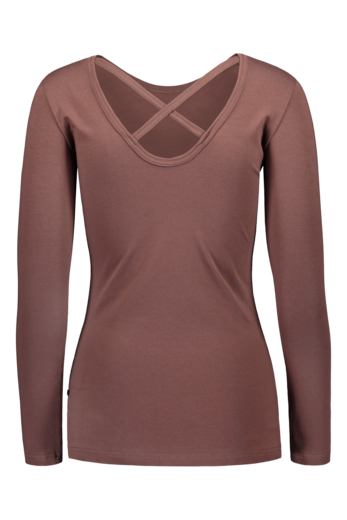 Kaiko - Woman Cross Shirt Ls, Roots