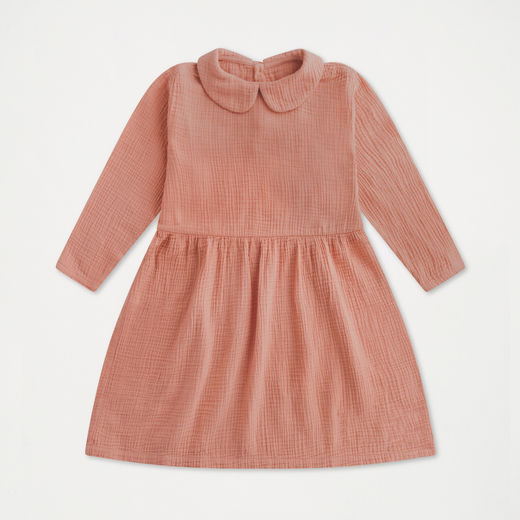 Repose AMS - Peter Pan dress, Blushing peach