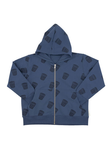 Tinycottons - Ice cream pots FT hoody, light navy/navy