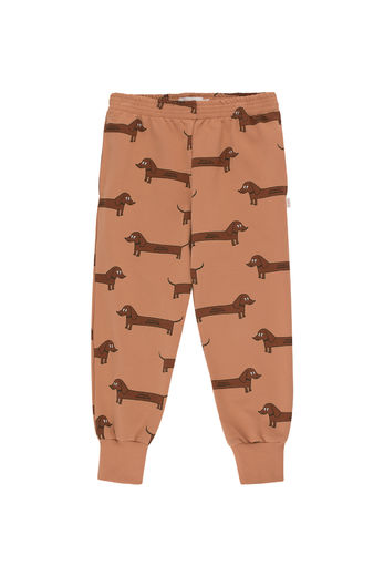 Tinycottons - IL BASSOTTO SWEATPANT, tan/dark brown