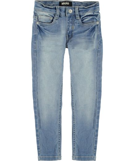 Molo kids - Aksel jeans, worn denim