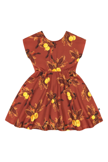 Kaiko - Breeze dress, amber orange